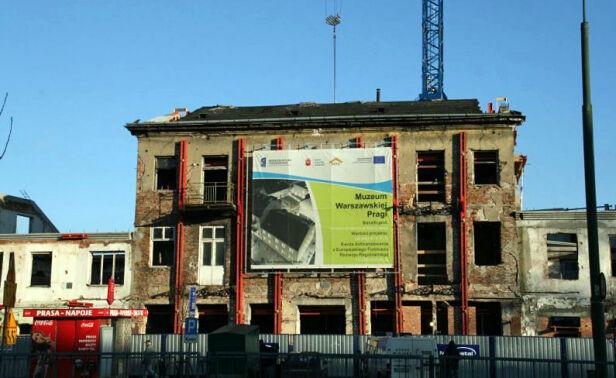 Modernizacja przyszłej siedziby Muzeum Warszawskiej Pragi SZRM