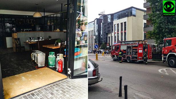 Akcja strażaków na Woli rafal_1111 / Kontakt 24