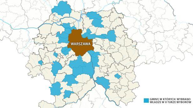 Mapa II tury tvn24.pl