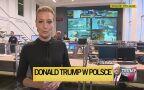 Reporterka Ewa Paluszkiewicz w Biurze Bezpieczeństwa i Zarządzania Kryzysowego
