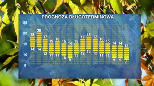 Pogoda na 16 dni: nieładny początek jesieni. Niże, chłód i wilgoć