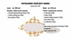Przykładowe posiłki zbilansowanej diety: lunch i obiad