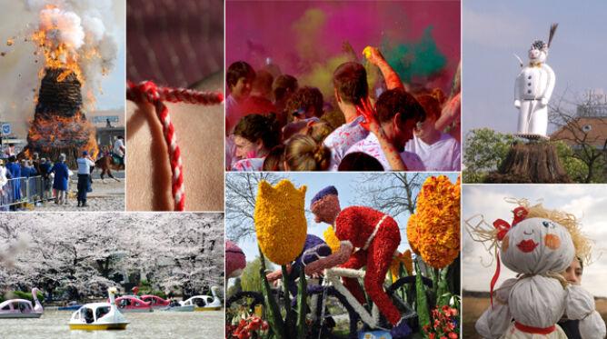 10 niezwykłych tradycji wiosennych z całego świata