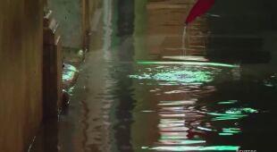 U wybrzeży Chorwacji padał ulewny deszcz
